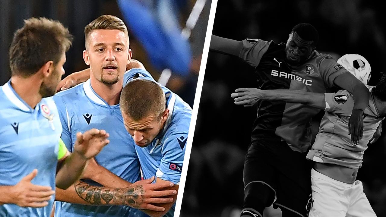 Football - Ligue Europa - Tops/Flops Lazio-Rennes : Milinkovic-Savic assure, Niang dans le dur