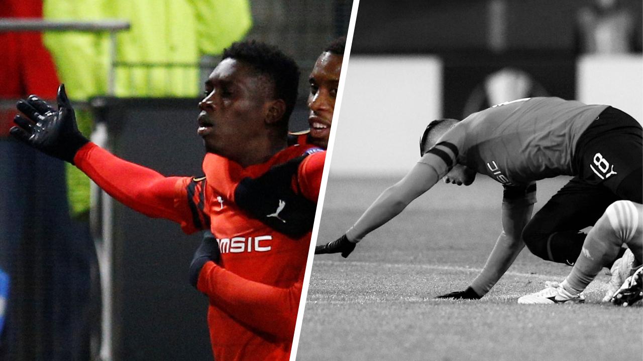Football - Ligue Europa - Tops/Flops Rennes-Astana : Sarr ce héros, Ben Arfa un peu pataud