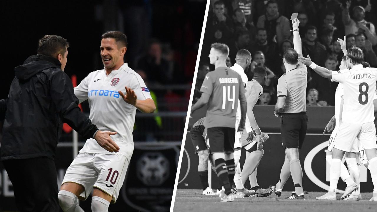 Football - Ligue Europa - Tops/Flops Rennes-Cluj : Deac opportuniste, les Rennais se sabordent