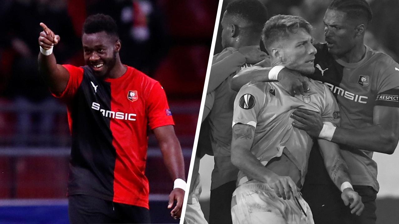 Football - Ligue Europa - Tops/Flops Rennes-Lazio : Gnagnon héros d'un soir, Immobile n'y était pas
