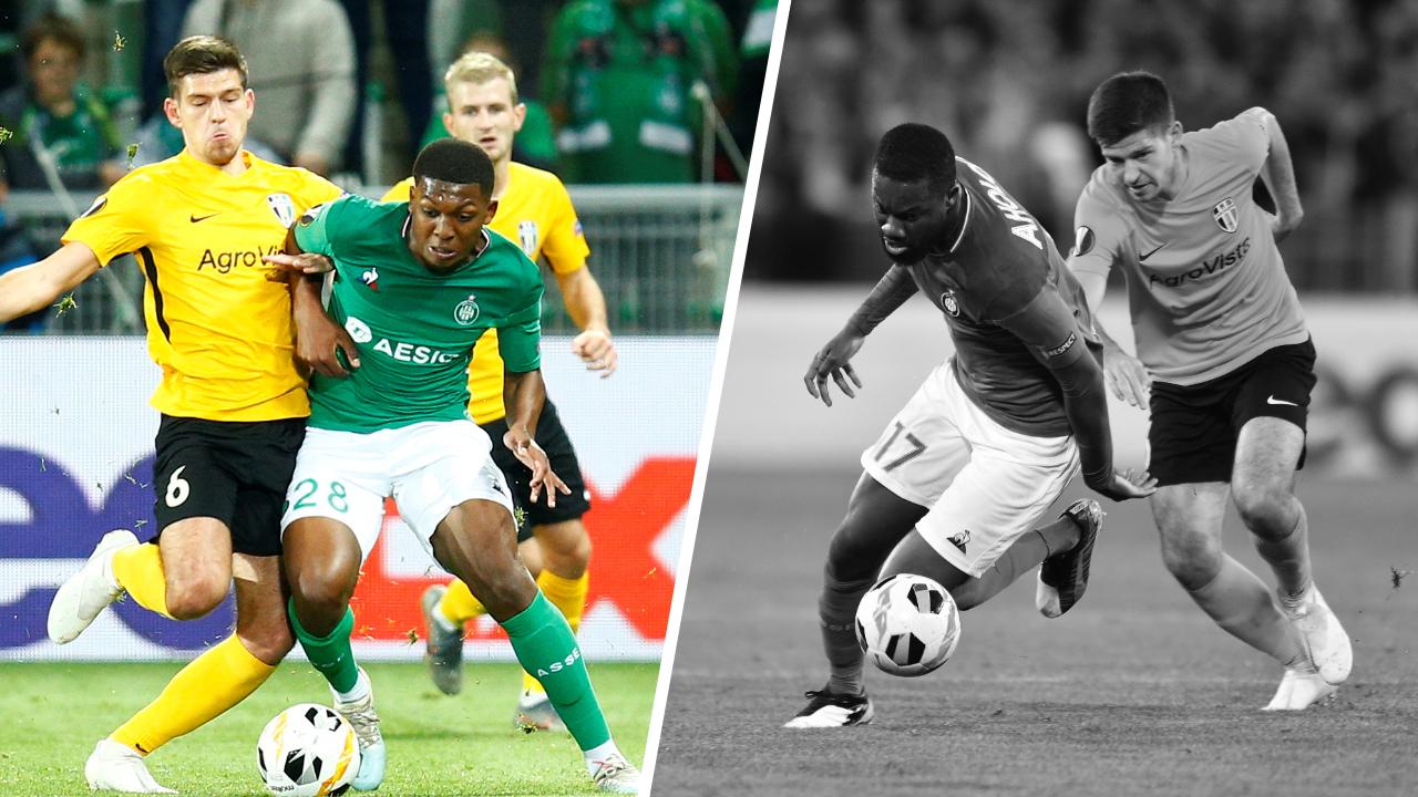 Football - Ligue Europa - Tops/flops Saint-Etienne - Oleksandria : l'activité de Youssouf, le retour raté d'Aholou