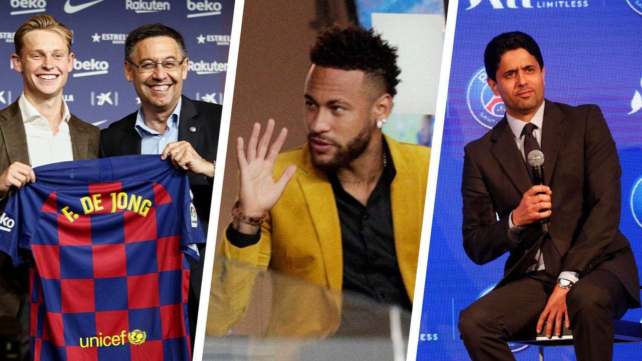 Football - Transferts - A quoi jouent Bartomeu et le Barça avec Neymar ?