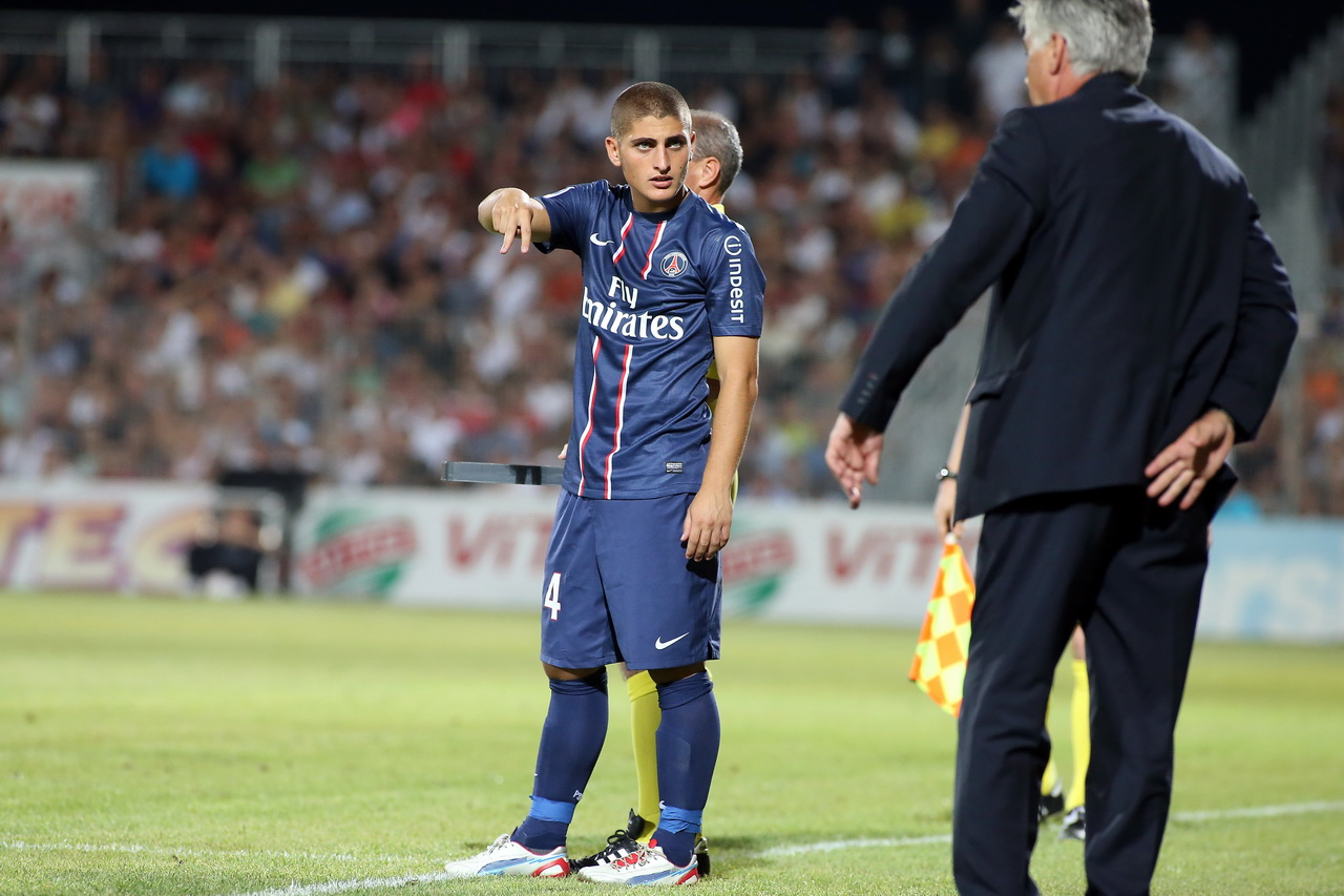 Football - Transferts - Ancelotti n'a «pas aimé» l'attitude de Verratti cet été