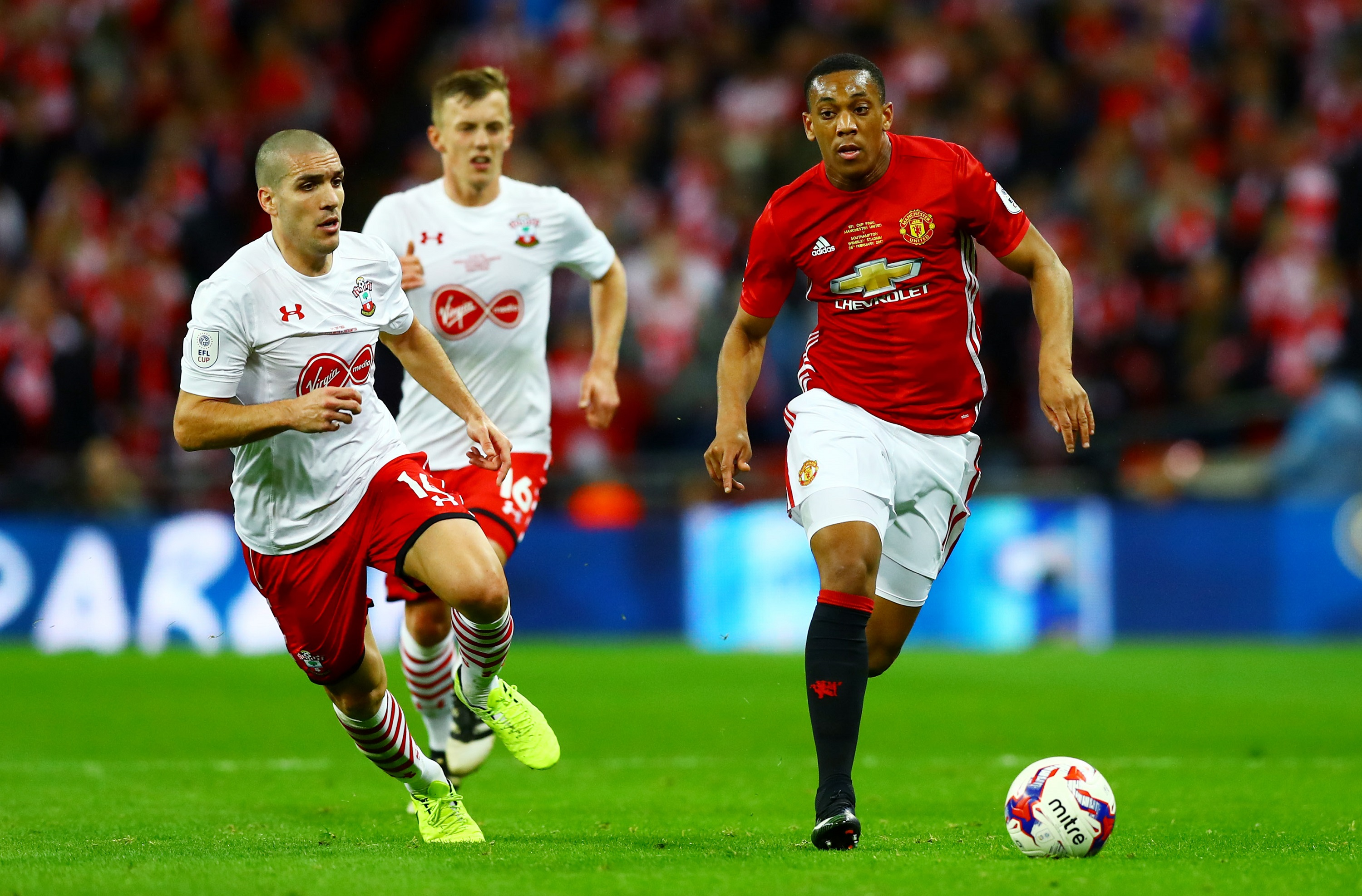 Football - Transferts - Anthony Martial veut «rester» à Manchester United