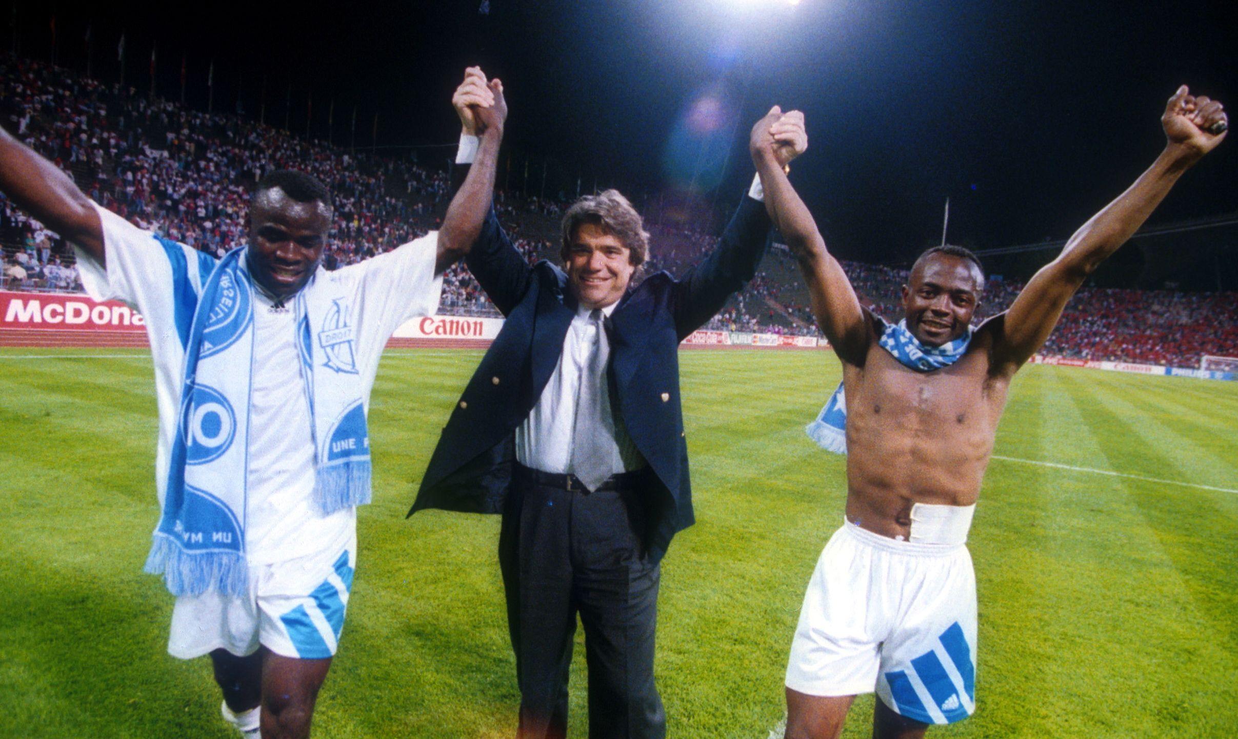 Football - Transferts - Bernard Tapie a fait croire qu'Abedi Pelé avait le sida pour le recruter
