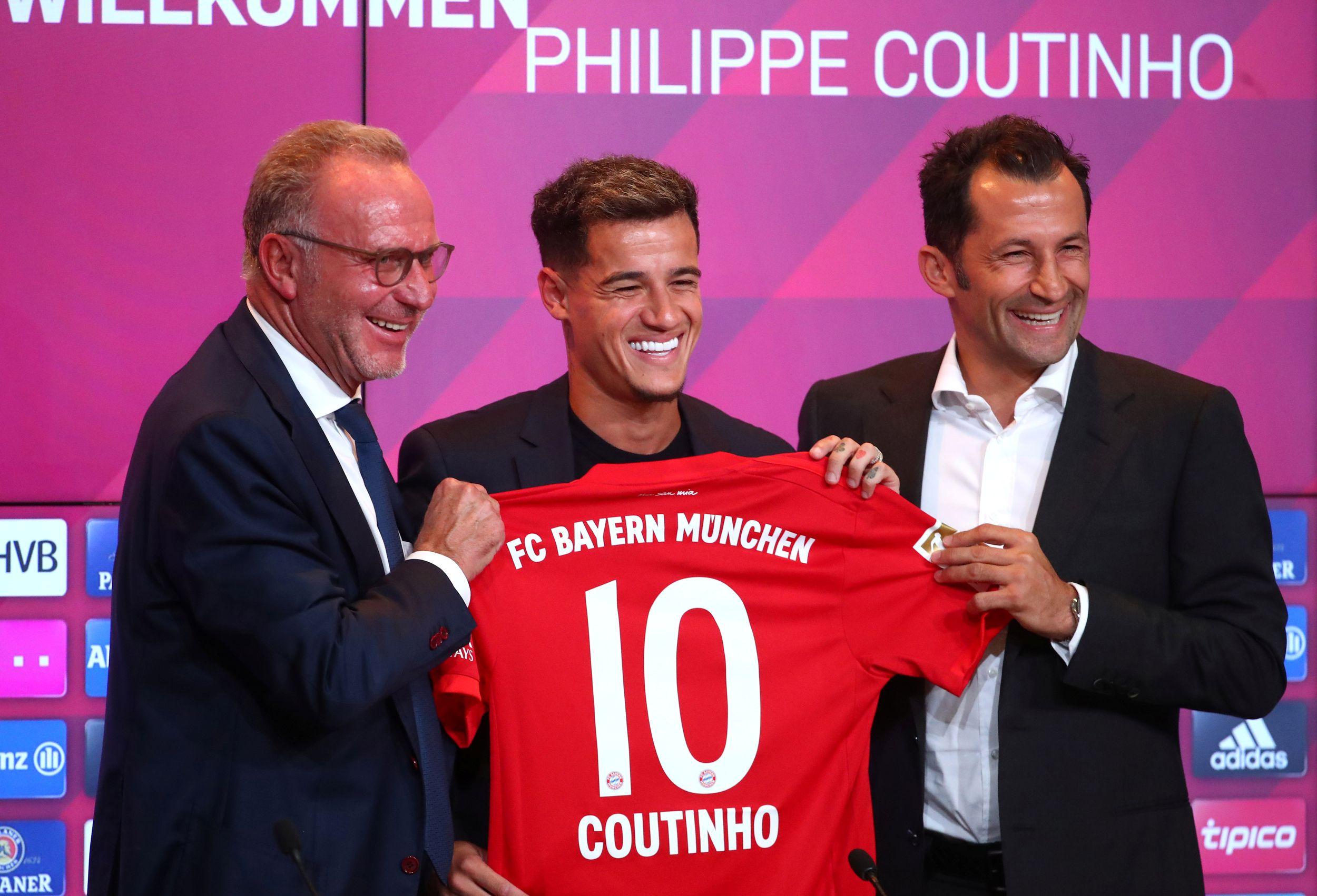 Football - Transferts - Coutinho veut tout gagner à Munich : «Je suis ici pour donner le meilleur de moi-même»