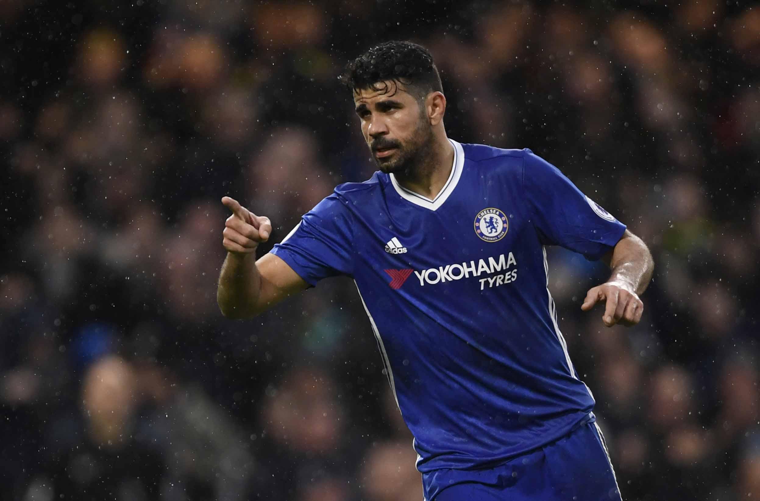 Football - Transferts - Diego Costa ne dirait pas non à la Ligue 1