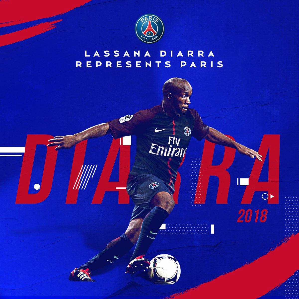 Maillot THIRD PSG Lassana DIARRA