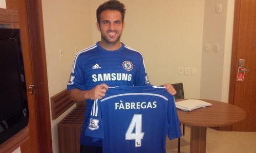 Fabregas quitte Barcelone pour Chelsea