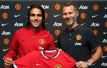 Radamel Falcao Ryan Giggs Manchester United