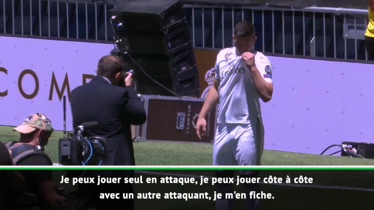 Football - Transferts - Jovic a été officiellement présenté au Real Madrid