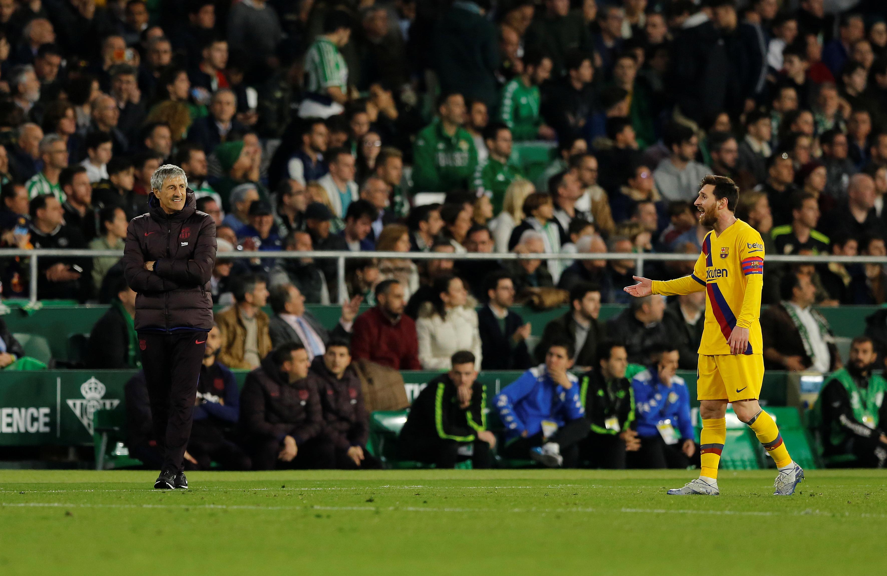 Football - Transferts - L'entraîneur du FC Barcelone ne se prononce pas sur l'avenir de Messi