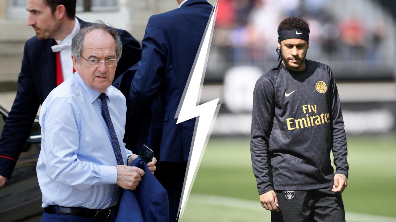 Football - Transferts - Le Graët tacle Neymar : «Le PSG a besoin d'une équipe et pas de marketing»
