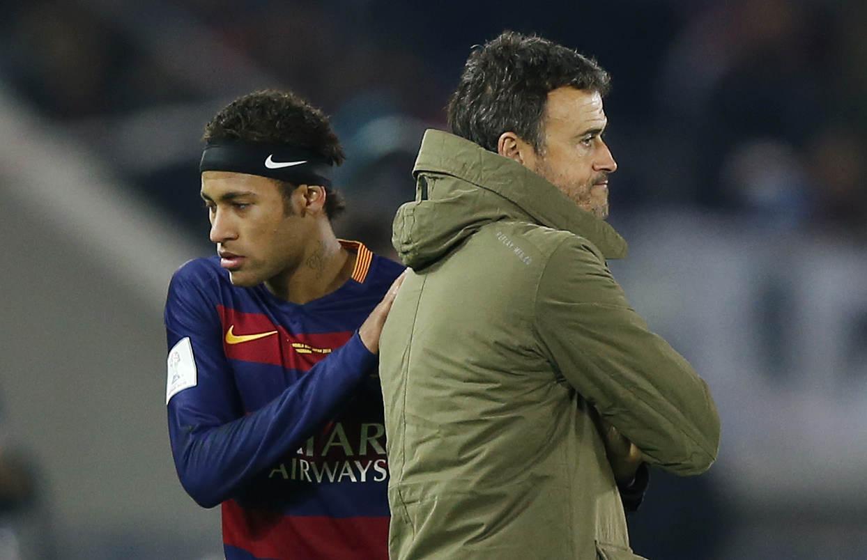 Football - Transferts - Le journal du mercato : Neymar aurait choisi Luis Enrique sur le banc du PSG