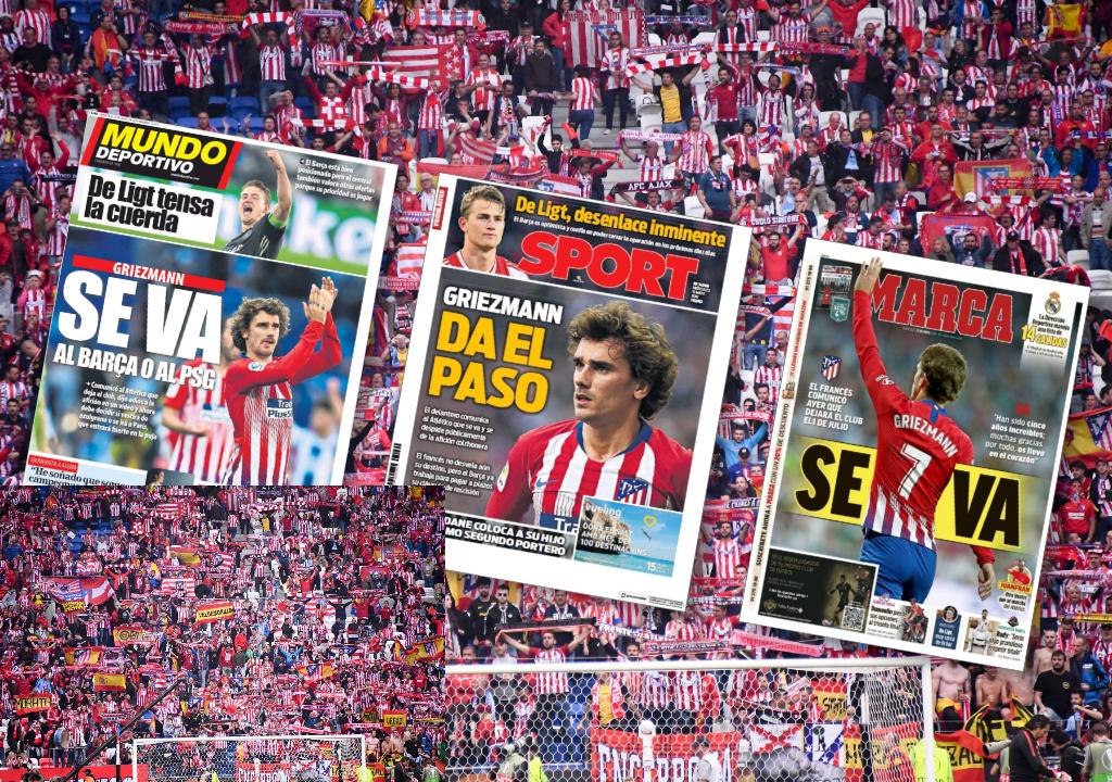 Football - Transferts - Le journal du Mercato : Griezmann vers le Barça... ou le PSG ?