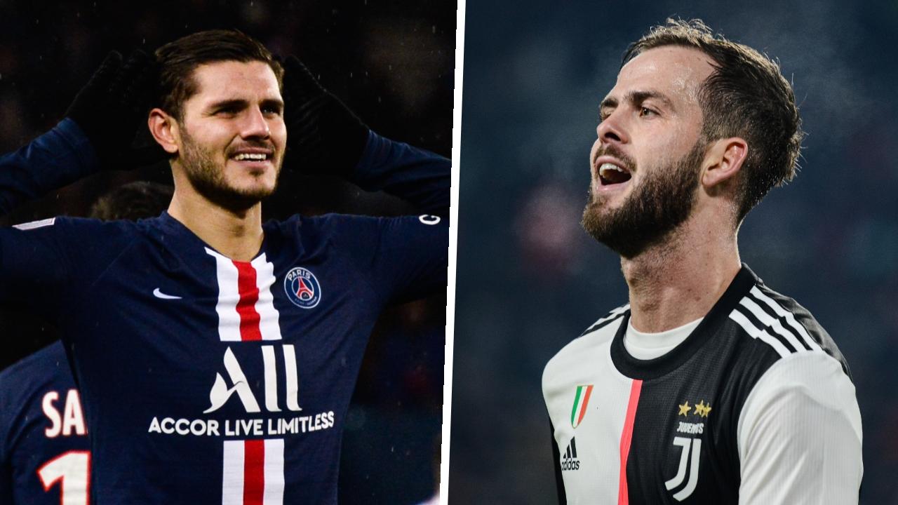 Football - Transferts - Le journal du mercato : la Juve rêve d'Icardi, le PSG veut Pjanic