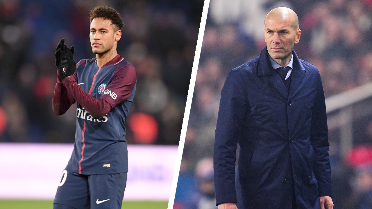Football - Transferts - Le journal du mercato : Neymar voudrait Zidane comme entraîneur du PSG