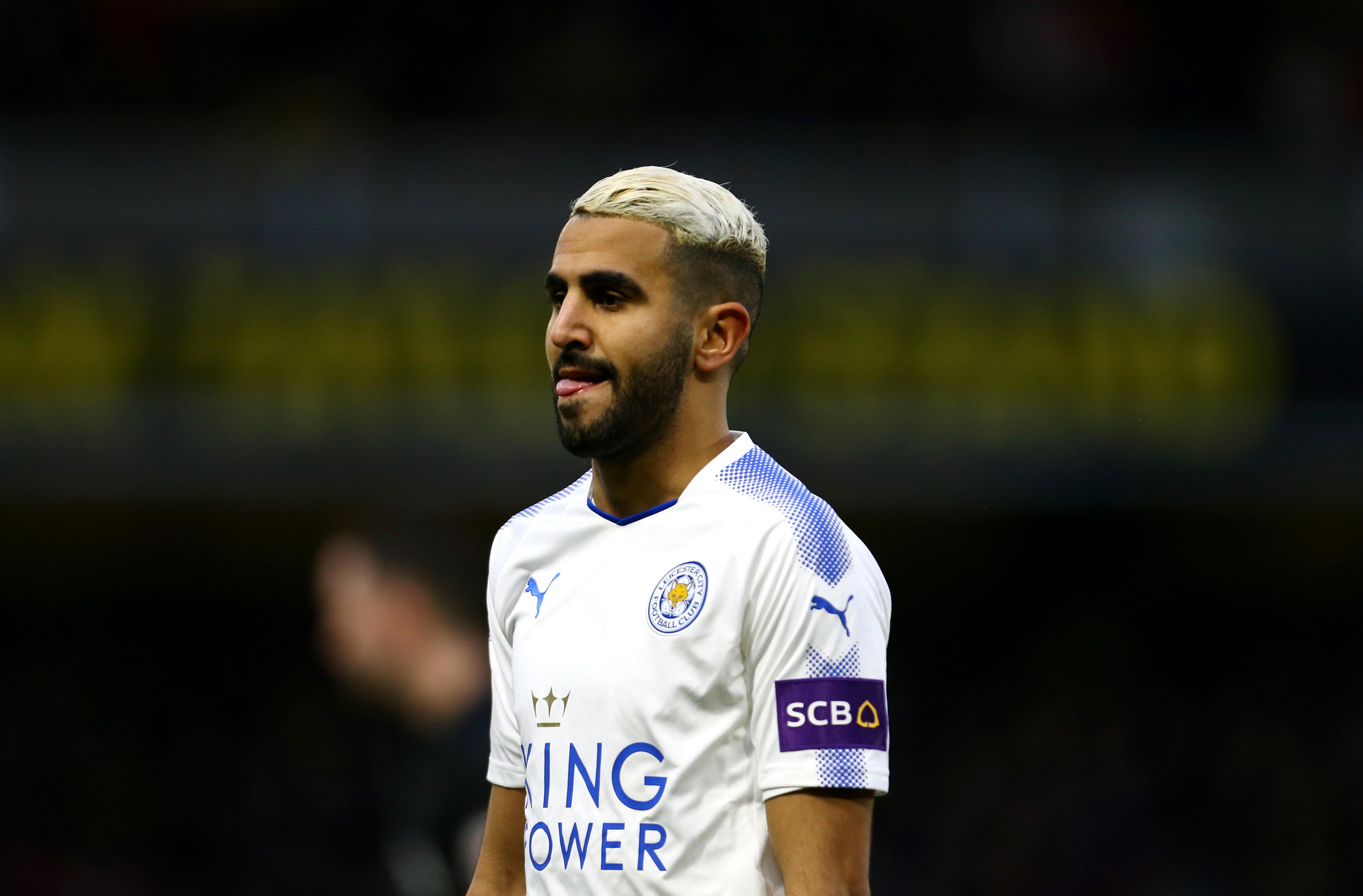 Maillot Extérieur Manchester City Riyad Mahrez