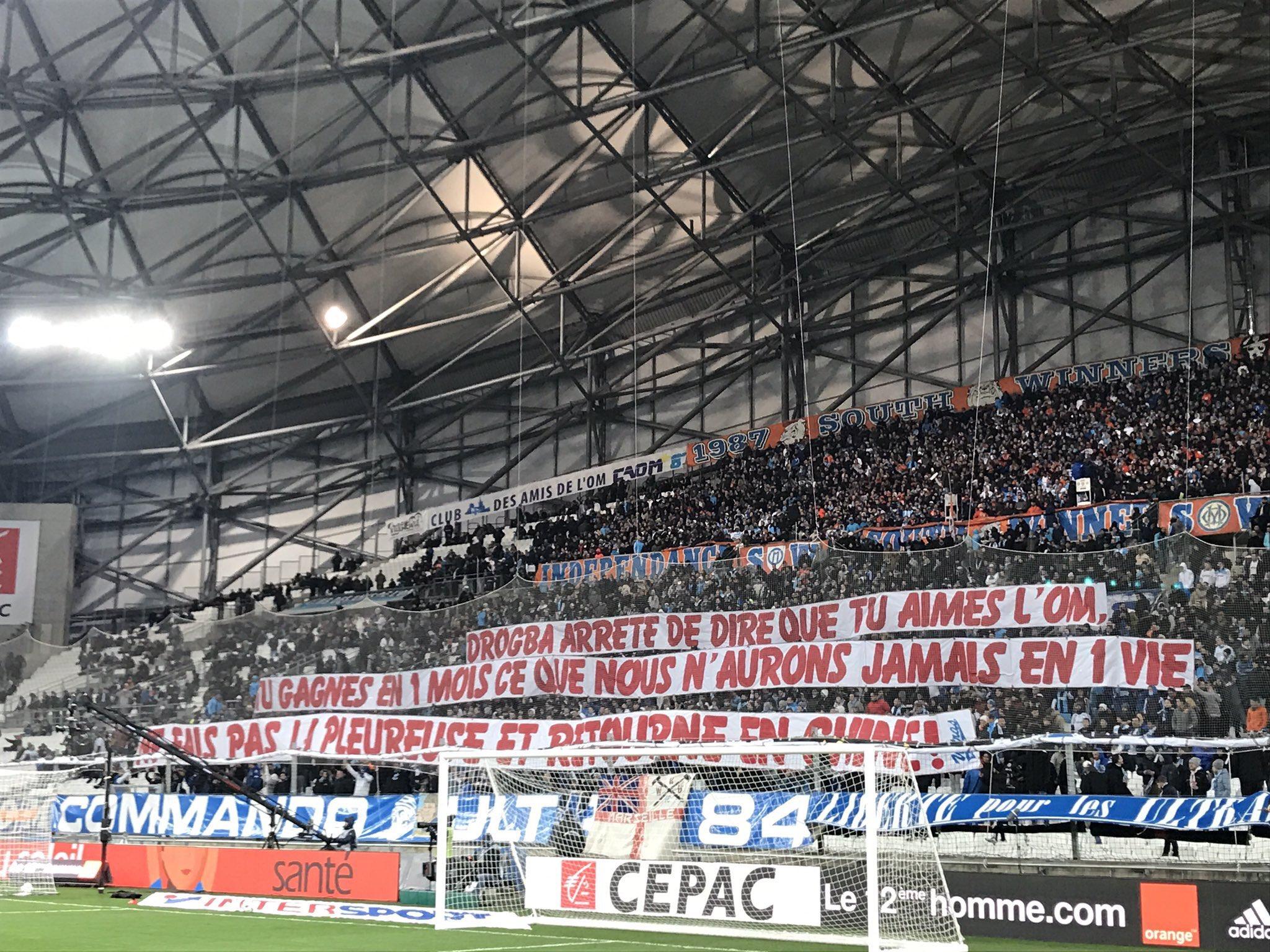 Football - Transferts - Le Vélodrome s'en prend à la Didier Drogba traité de «pleureuse»