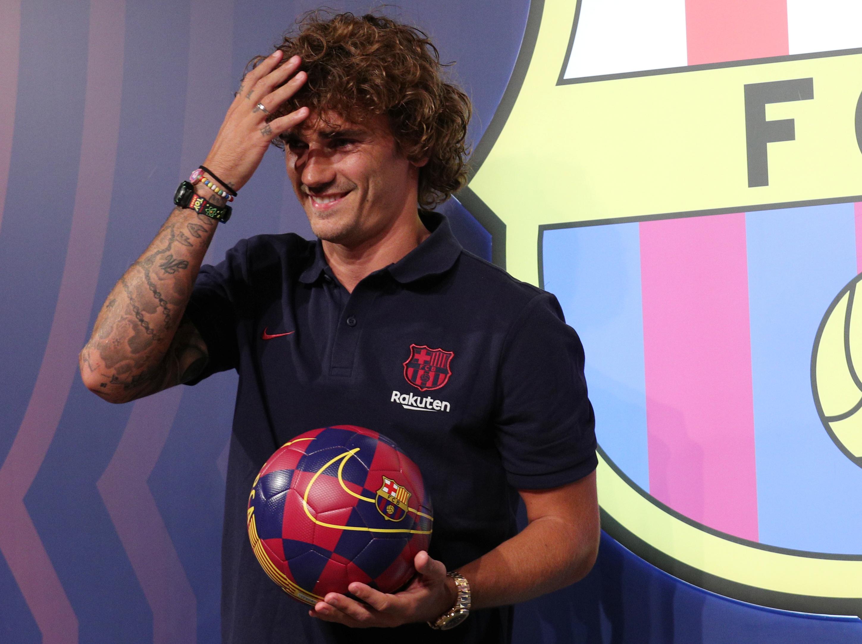 Football - Transferts - Messi, ambition, plaisir... Les premiers mots de Griezmann au Barça