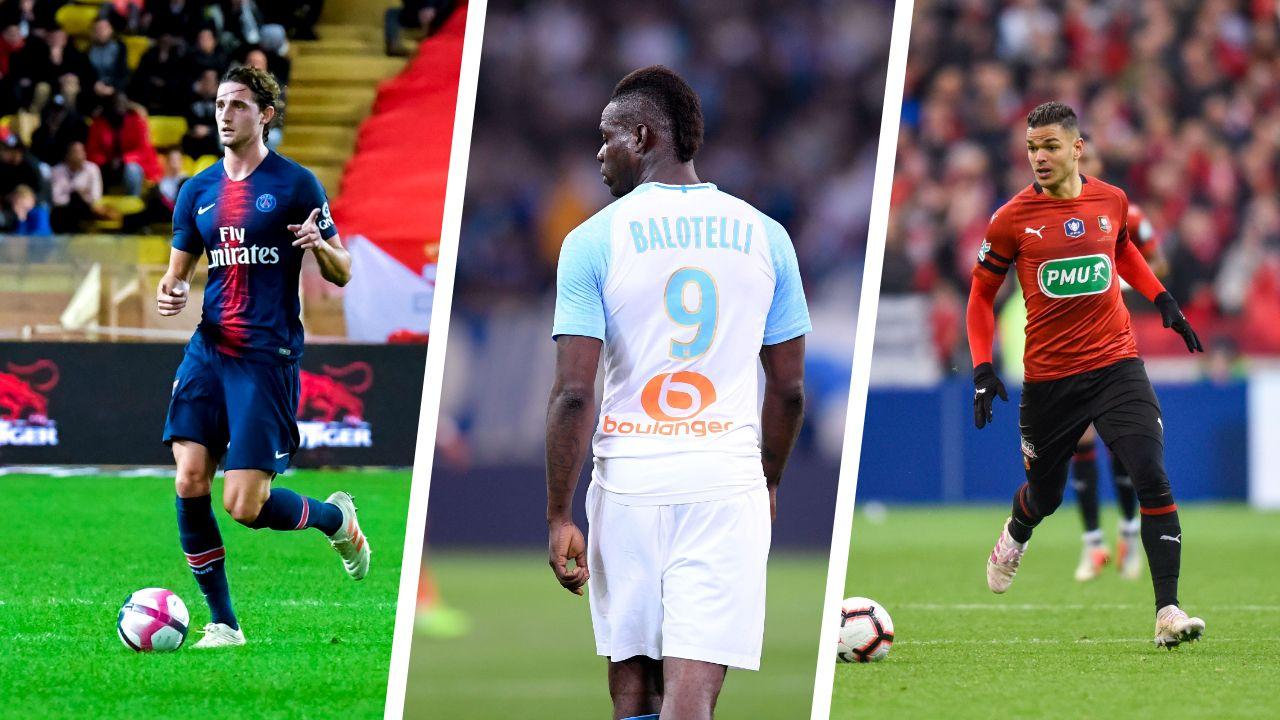 Football - Transferts - Rabiot, Balotelli, Ben Arfa... Le 11 des joueurs en fin de contrat cet été