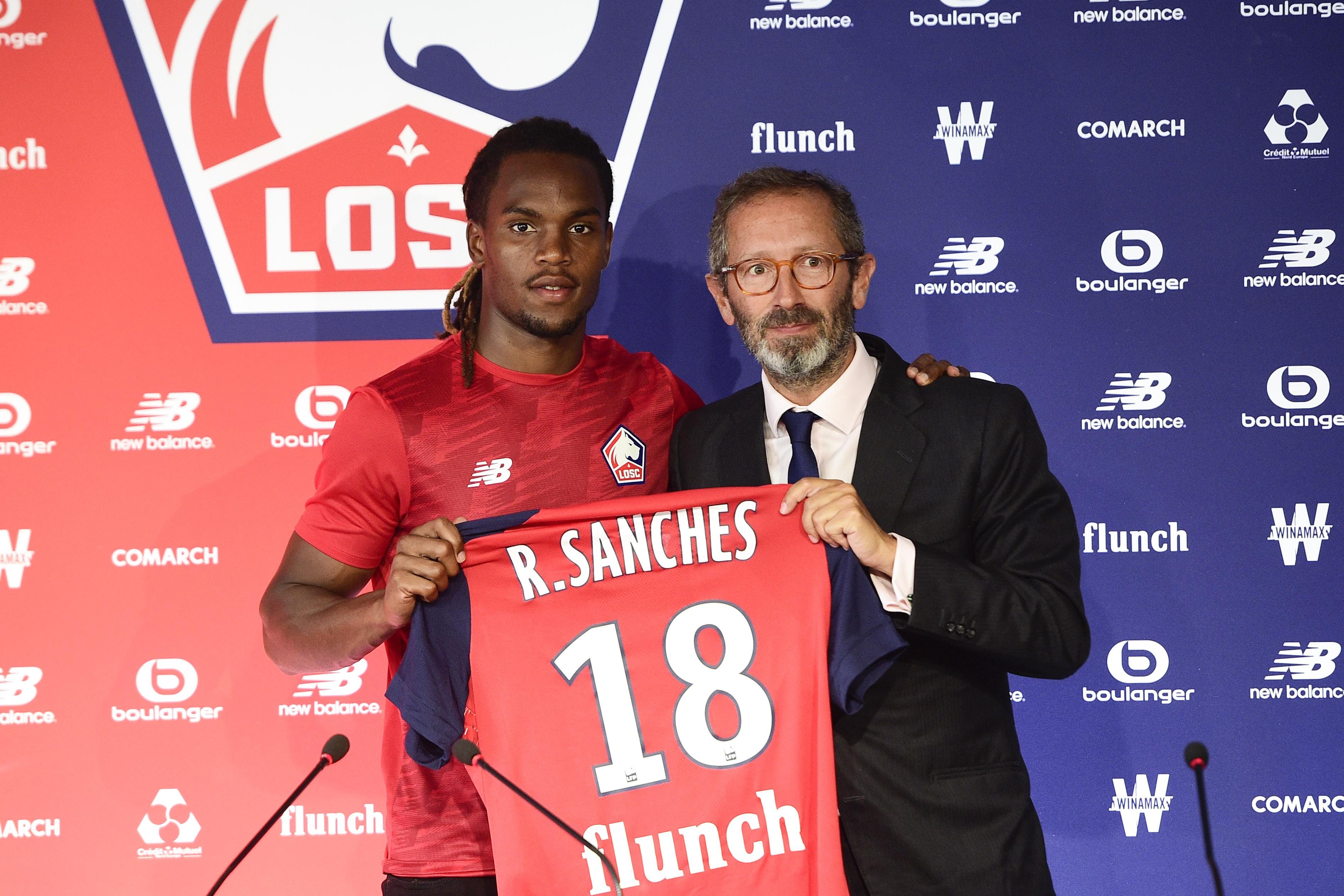 Football - Transferts - Renato Sanches, une recrue vraiment spéciale pour le Losc