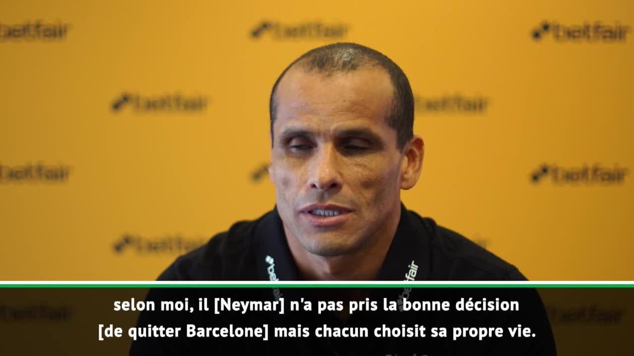Football - Transferts - Rivaldo : «Neymar a pris une mauvaise décision en quittant le Barça»