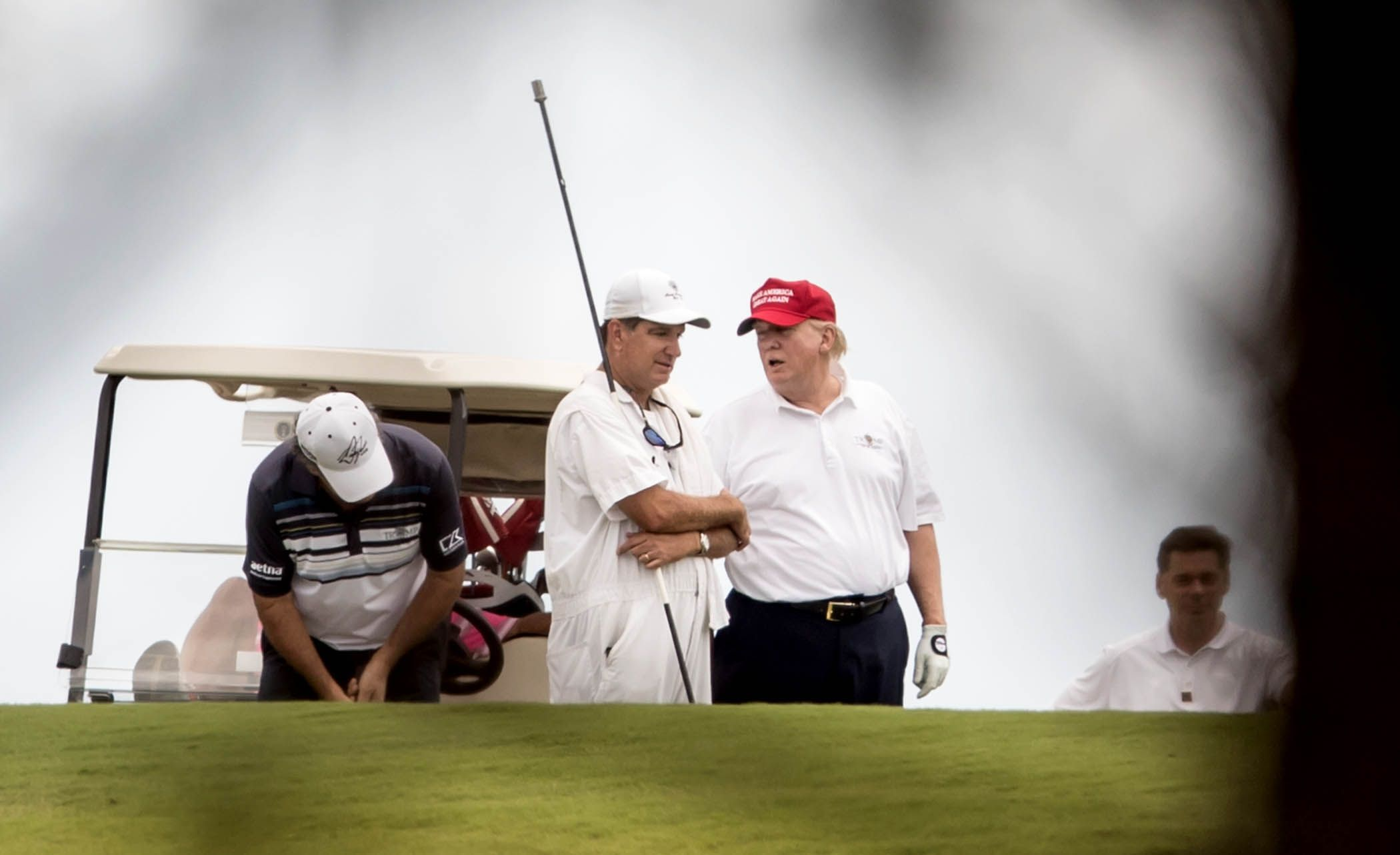 Golf - La Maison Blanche «gonfle» les performances au golf de Donald Trump