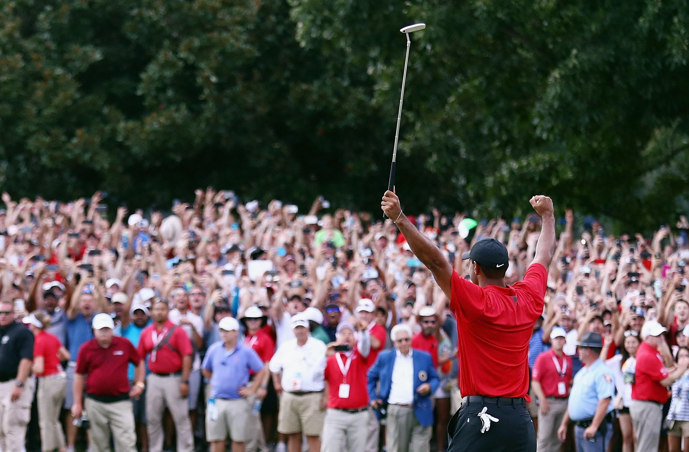 Golf - Nicklaus : «Il a joué comme le Tiger d'autrefois»