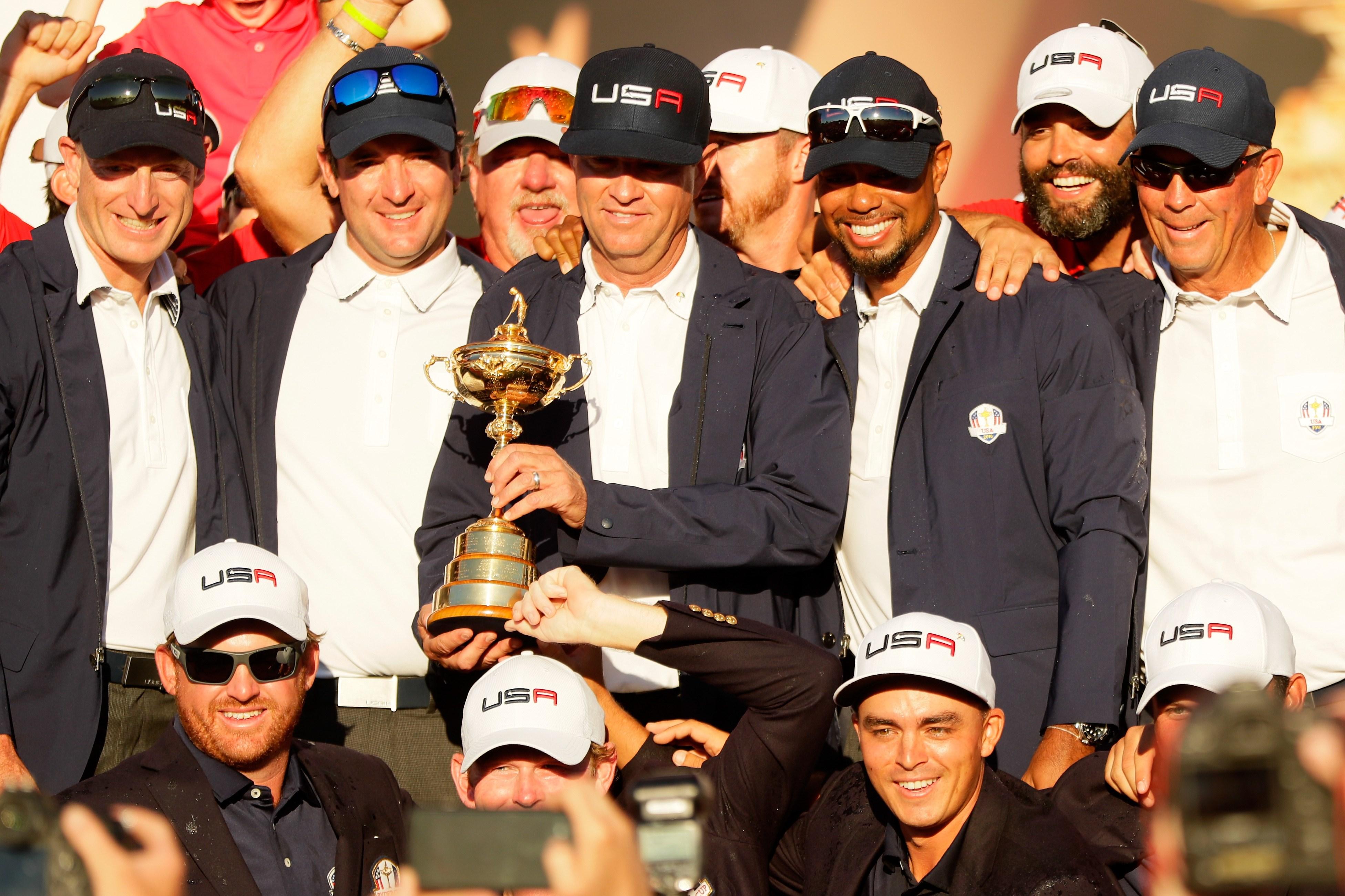 Golf - Ryder Cup 2016 : Les Etats-Unis, huit ans plus tard