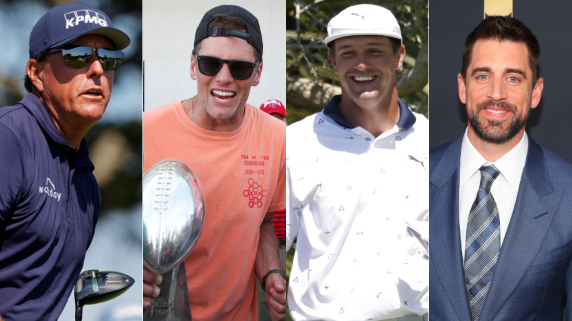 Mickelson et Tom Brady joueront contre DeChambeau et Aaron Rodgers