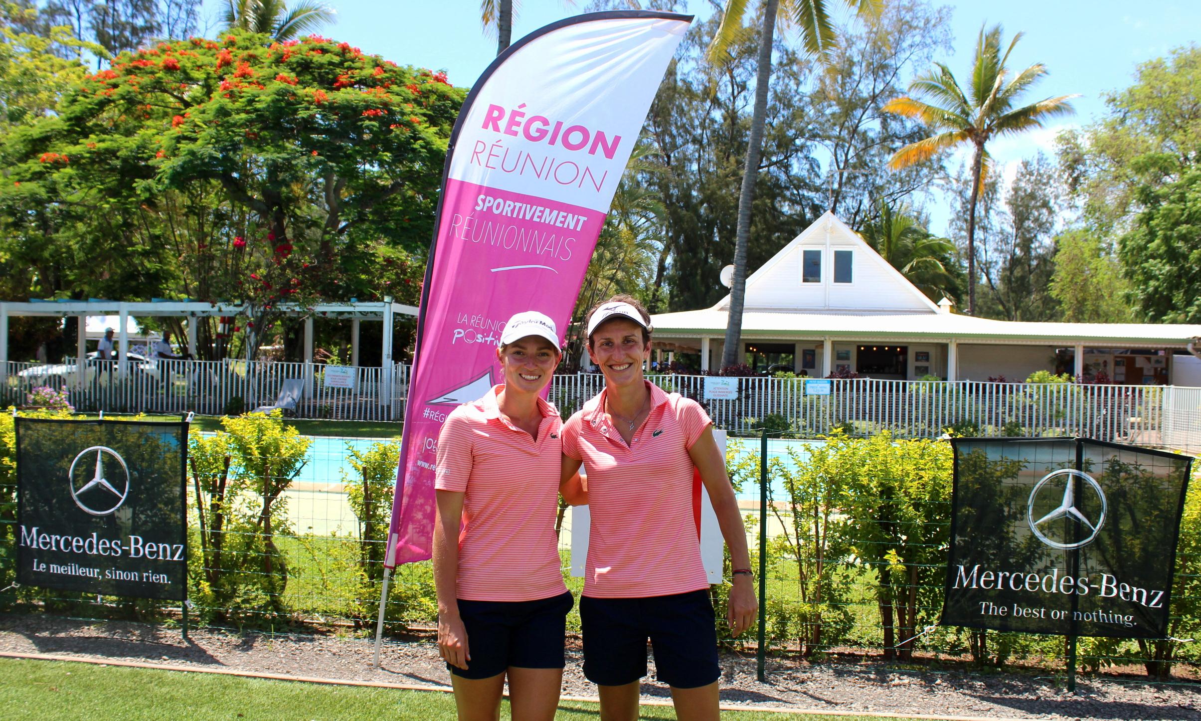 Golf - France - Internationaux de France de double: Agathe Sauzon et Lucie André confirment