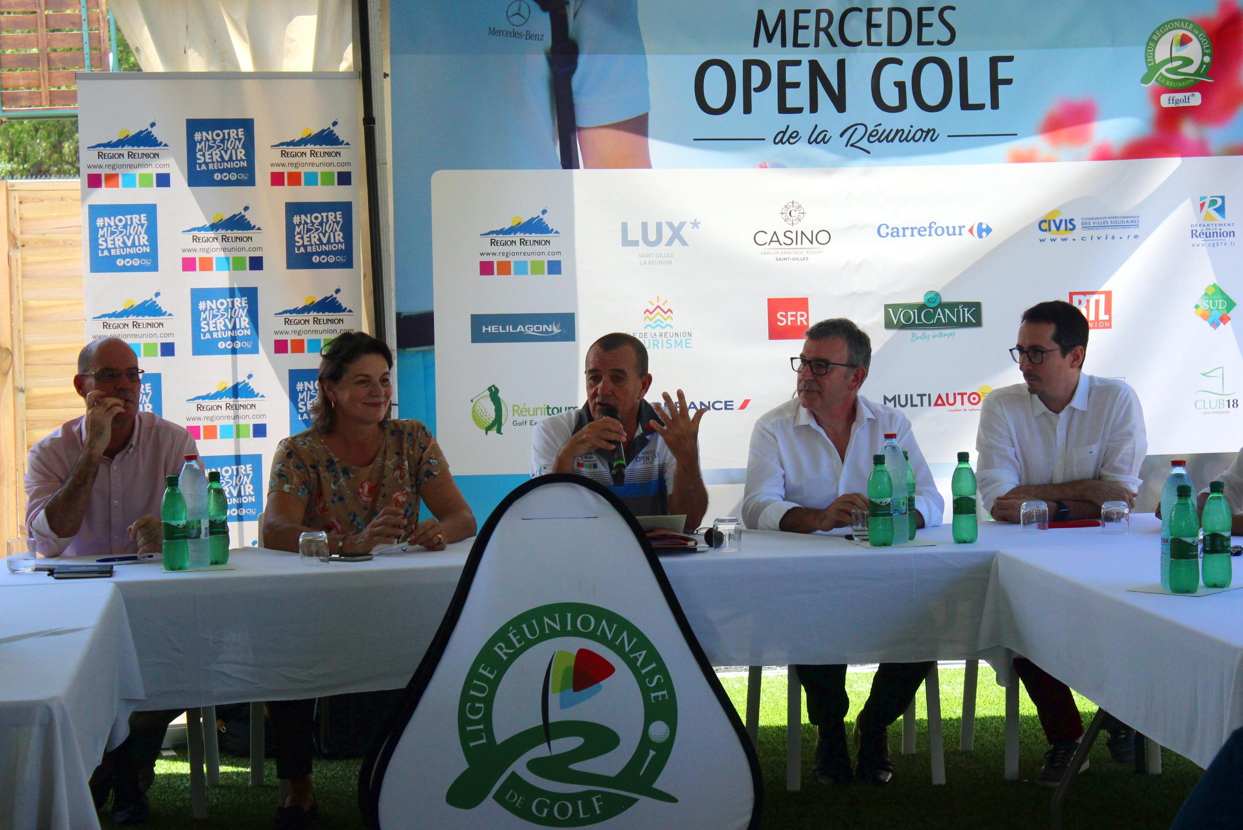 Golf - France - Internationaux de France de double: deux titres à décerner cette année à La Réunion