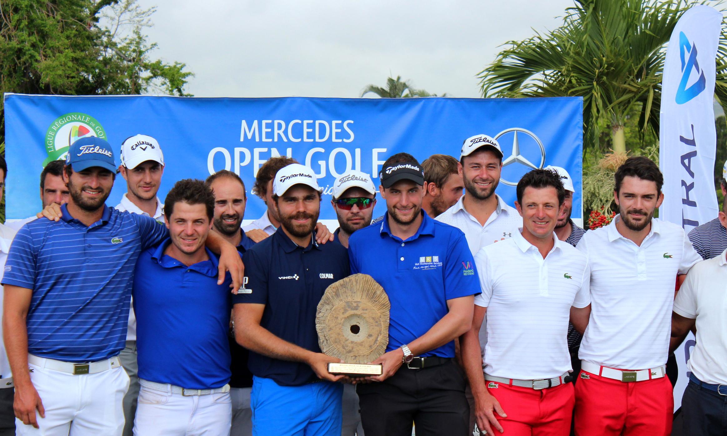 Golf - France - Internationaux de France de double: Romain Langasque et Antoine Schwartz jusqu'à la victoire