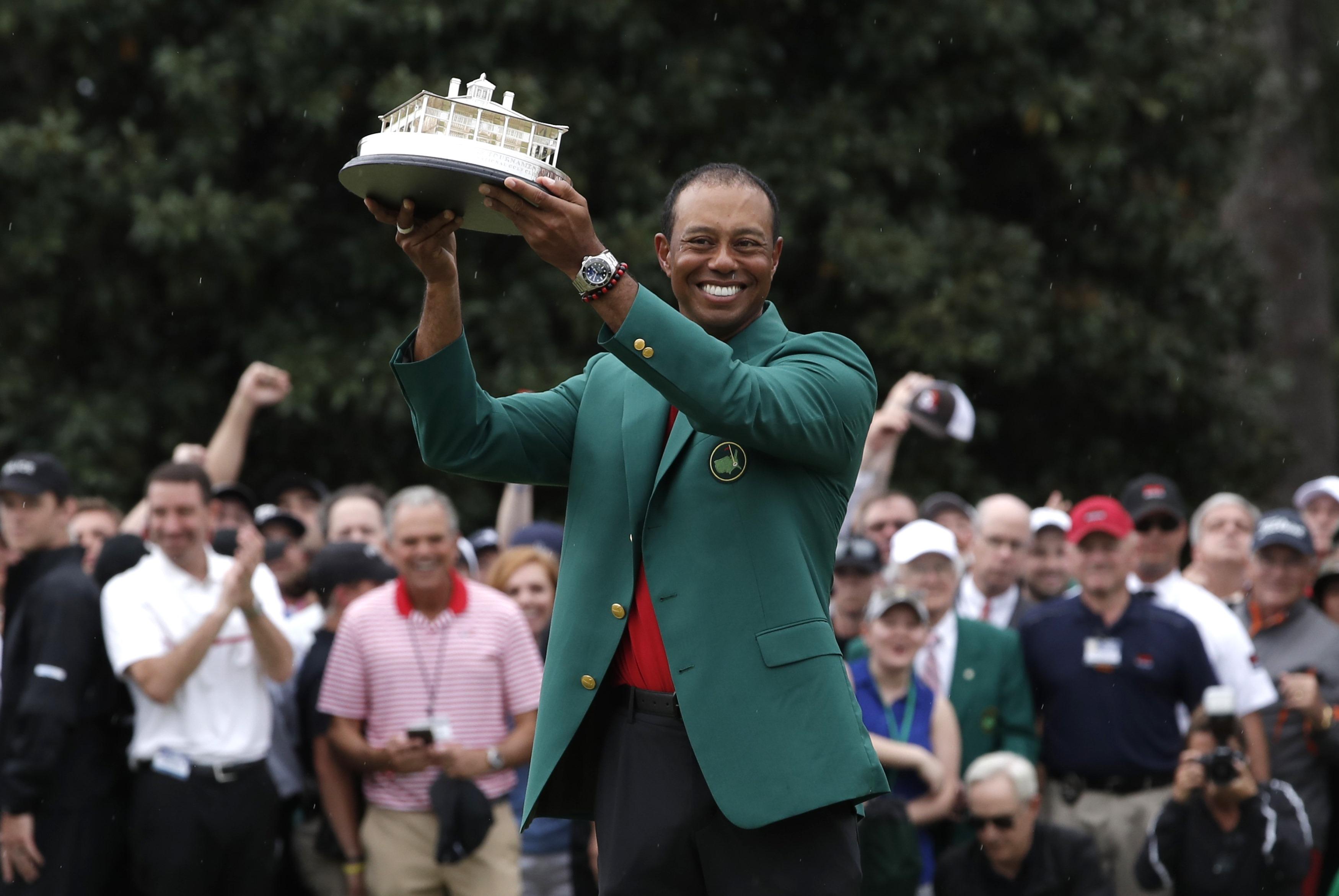 Golf - Masters Augusta - La fidélité de Nike à Tiger Woods récompensée avec la renaissance du golfeur