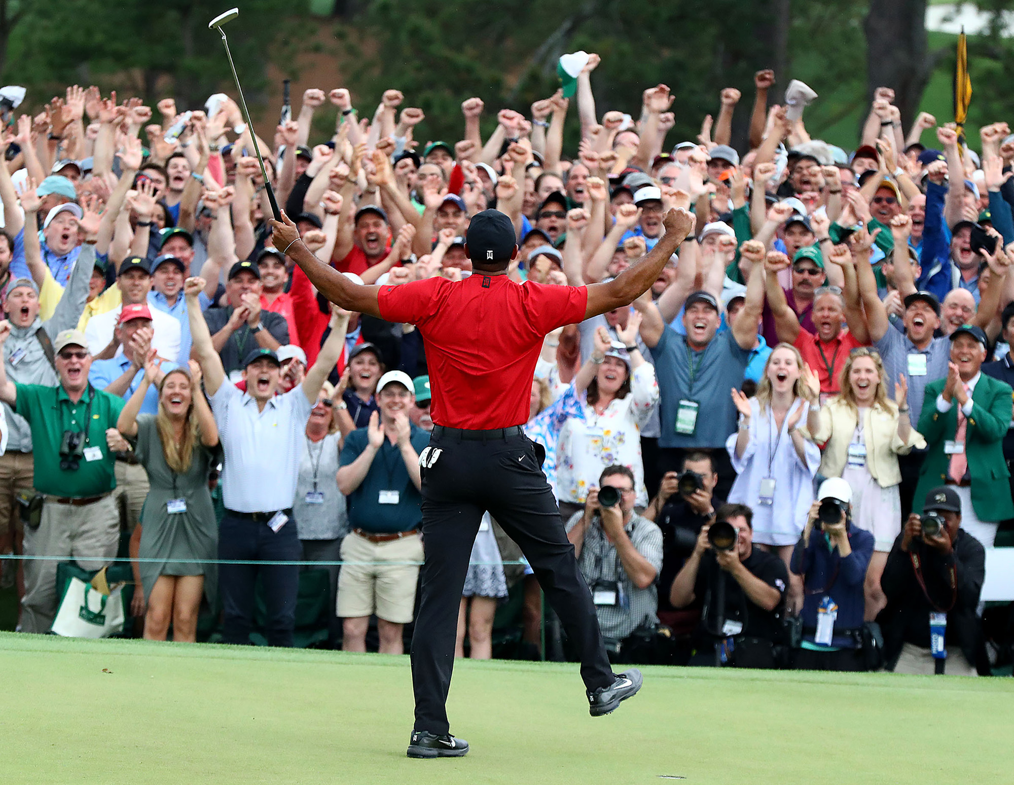 Golf - Masters Augusta - Le triomphe de Tiger Woods, champion hors normes