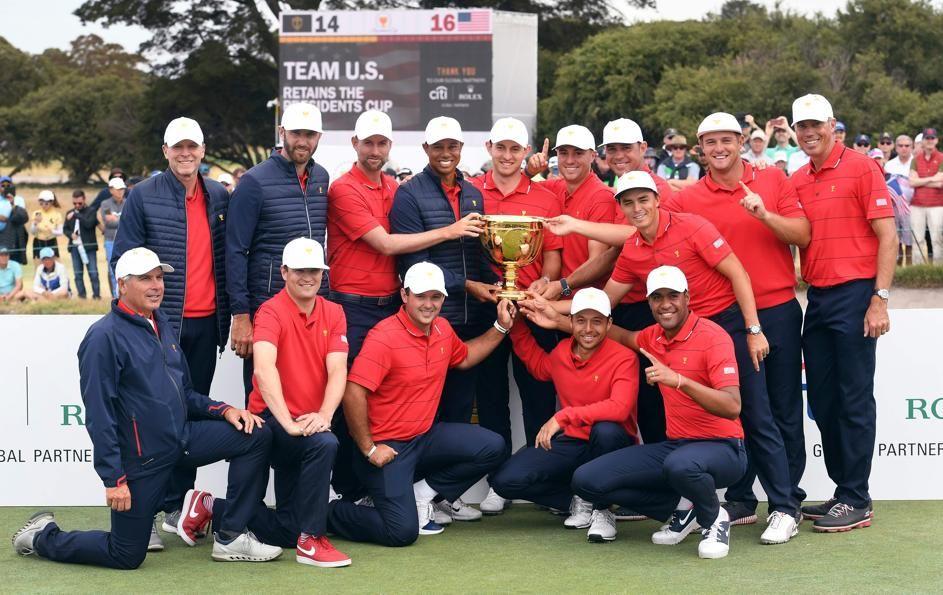 Golf - Monde - Presidents Cup : les Etats-Unis (avec Tiger Woods) conservent le trophée
