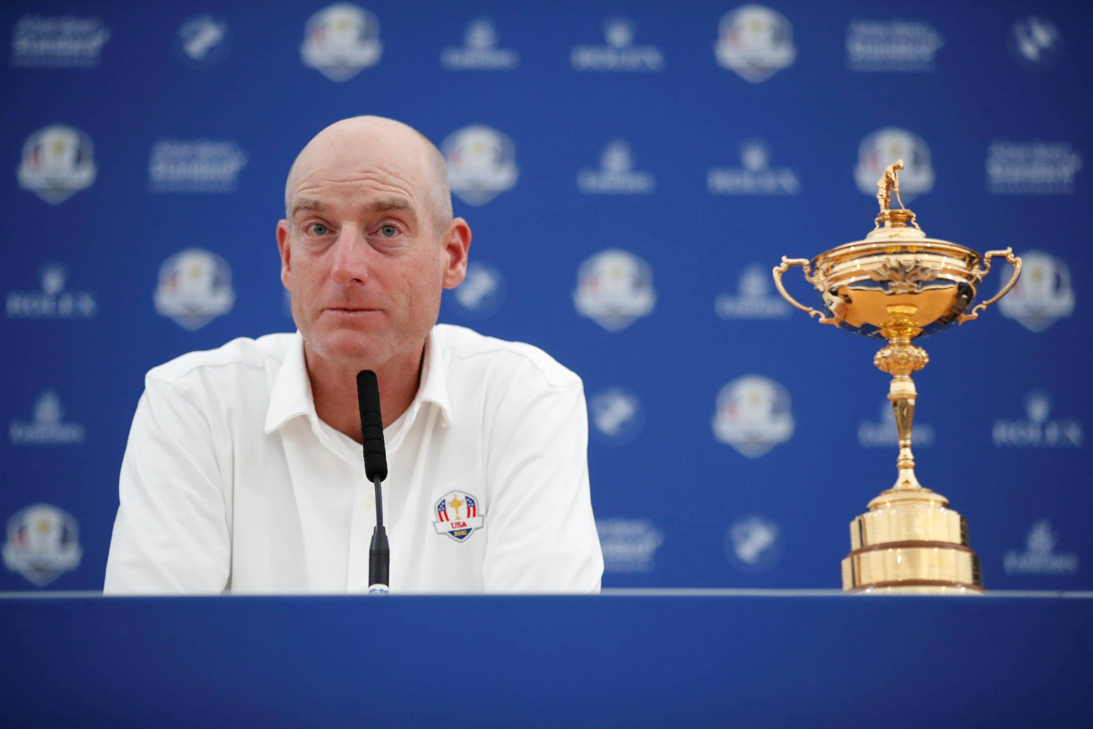 Golf - Ryder Cup - Jim Furyk : «Cela faisait longtemps qu'on attendait ça»