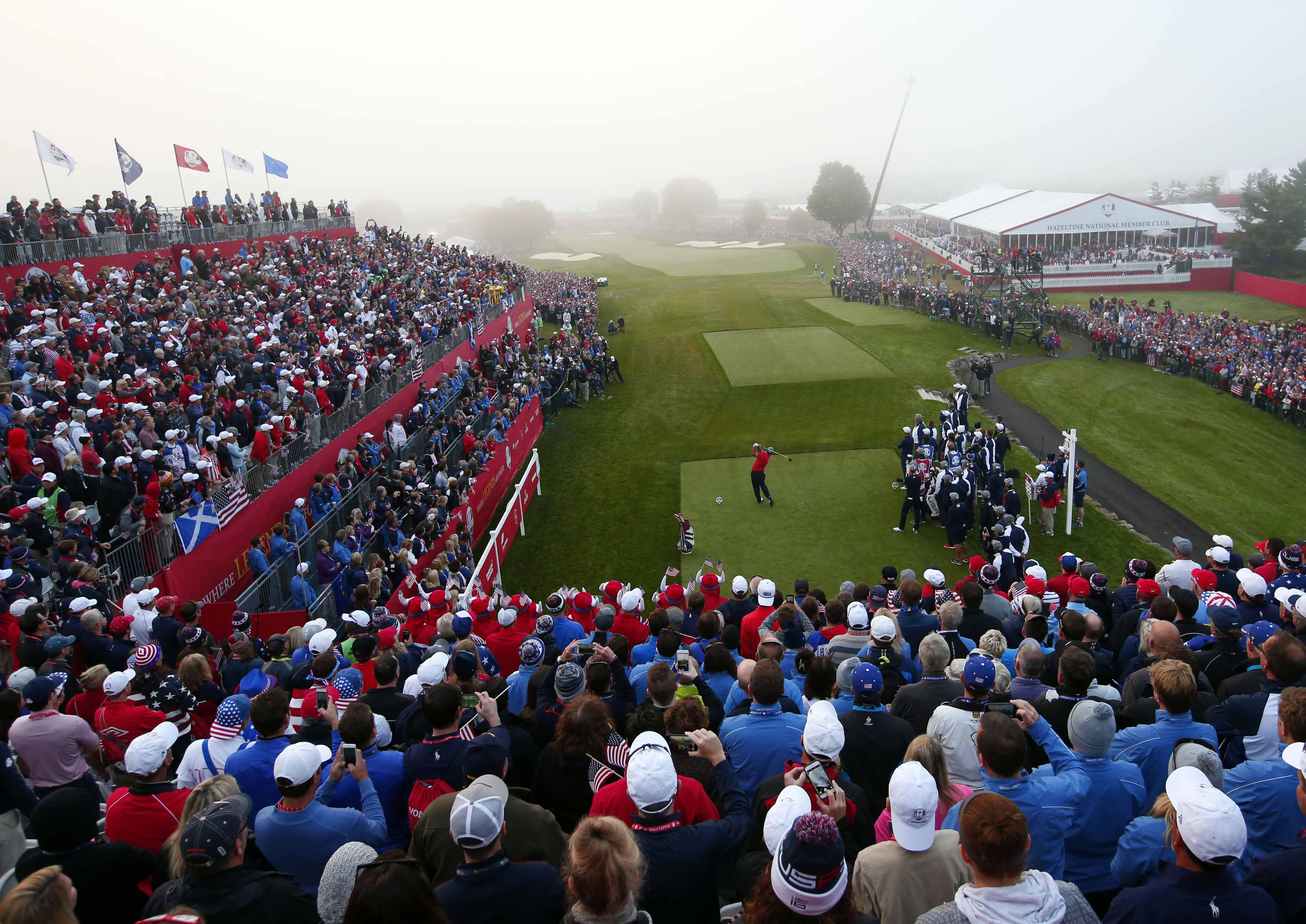 Golf - Ryder Cup - Ryder Cup: la 2e journée en direct