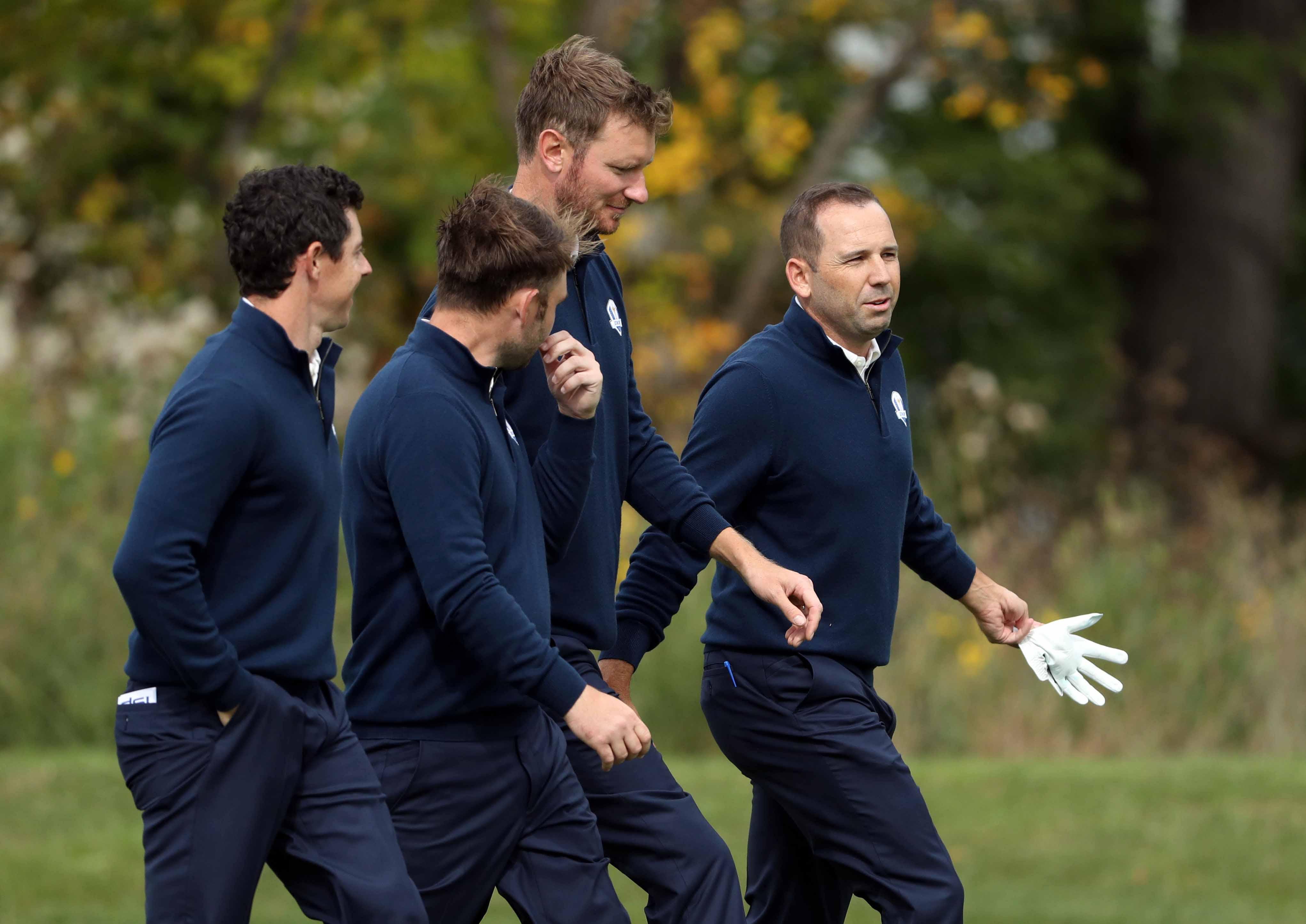 Golf - Ryder Cup - Ryder Cup : La présentation du Team Europe