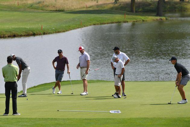 Golf - Ryder Cup - Ryder Cup : les Américains en reconnaissance au Golf National