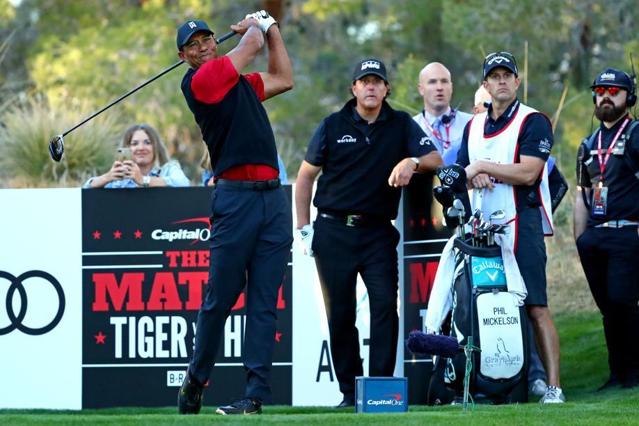 Golf - Tour américain - The Match : le jackpot pour Phil Mickelson