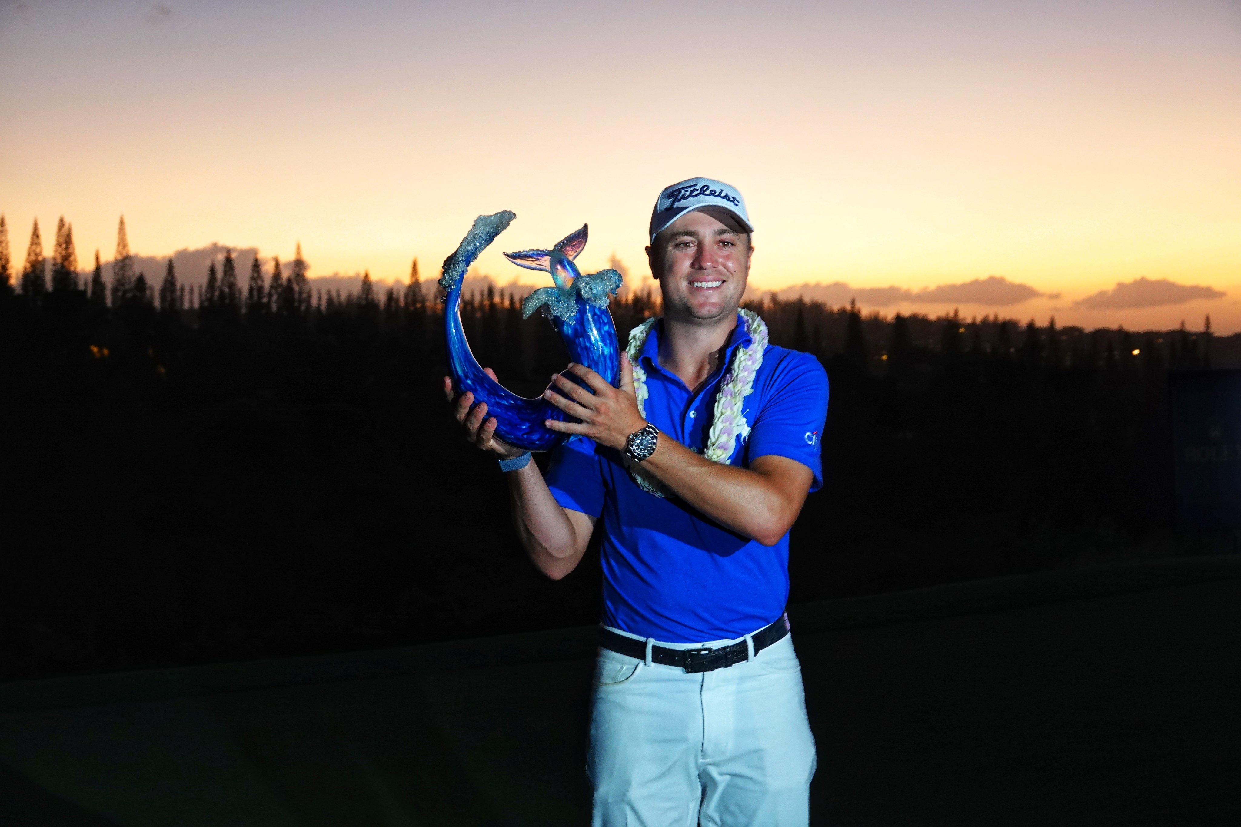Golf - Tour américain - Tournament of Champions: Justin Thomas s'impose en playoff à Hawaï