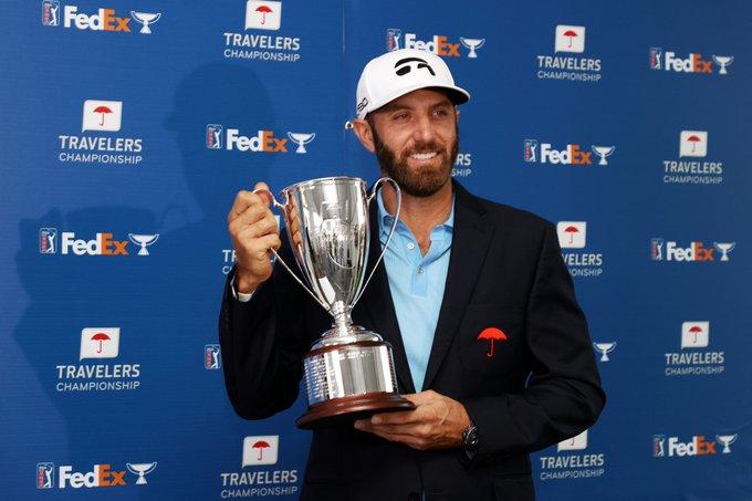 Golf - Tour américain - Travelers Championship: Dustin Johnson accumule les victoires