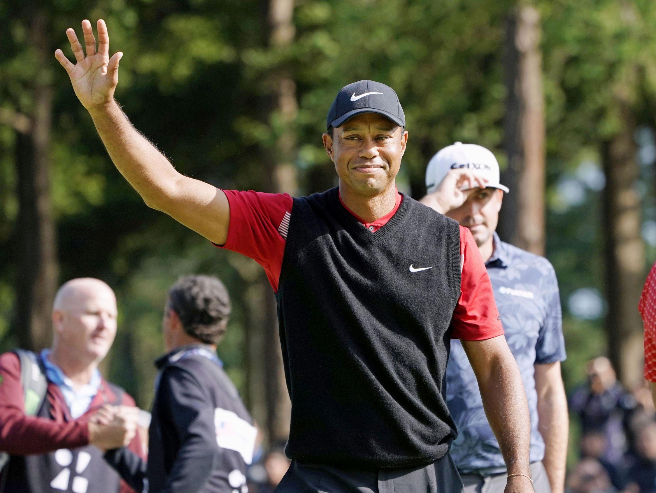 Golf - Tour américain - Tiger Woods, solidaire des victimes de l'ouragan Dorian