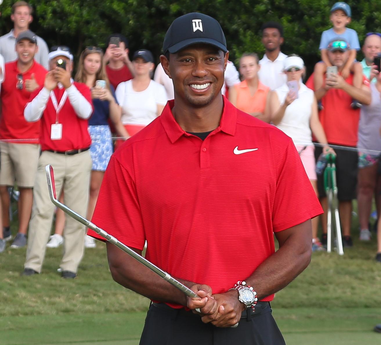 Golf - Tour américain - Tour Championship: Tiger Woods triomphe après cinq ans d'attente