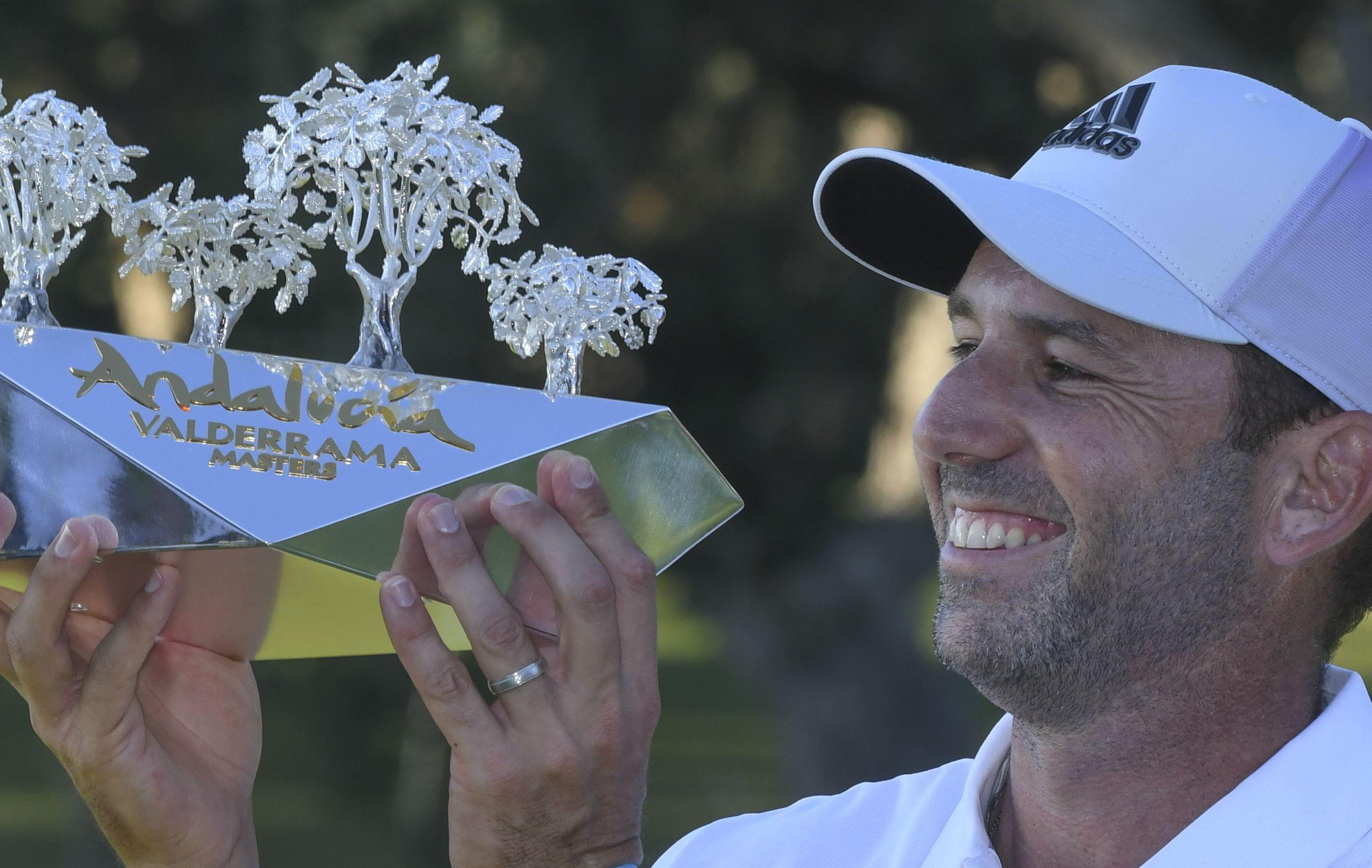 Golf - Tour européen - Andalucia Masters : Sergio Garcia reçu trois sur trois