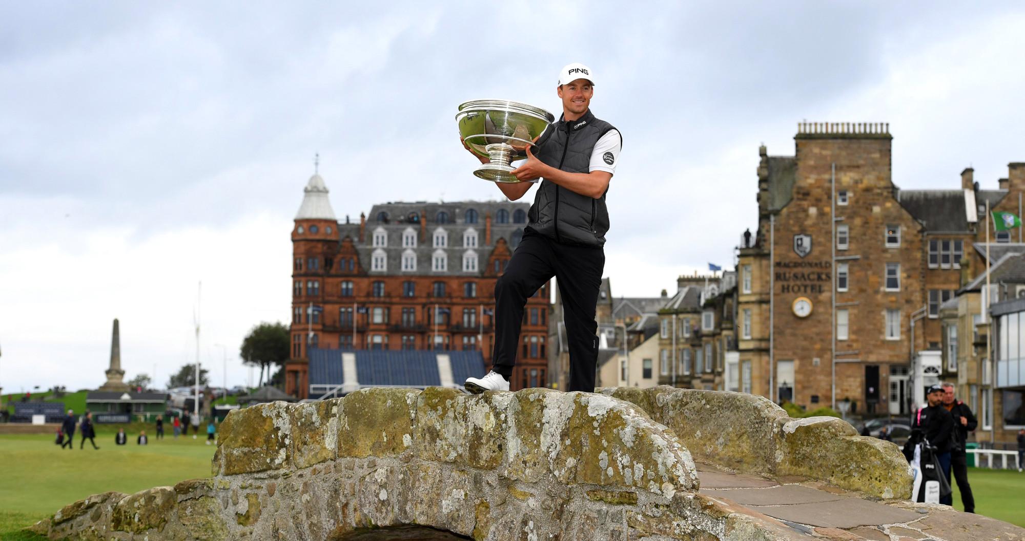 Golf - Tour européen - Dunhill Links Championship: Victor Perez couronné sur le mythique St Andrews