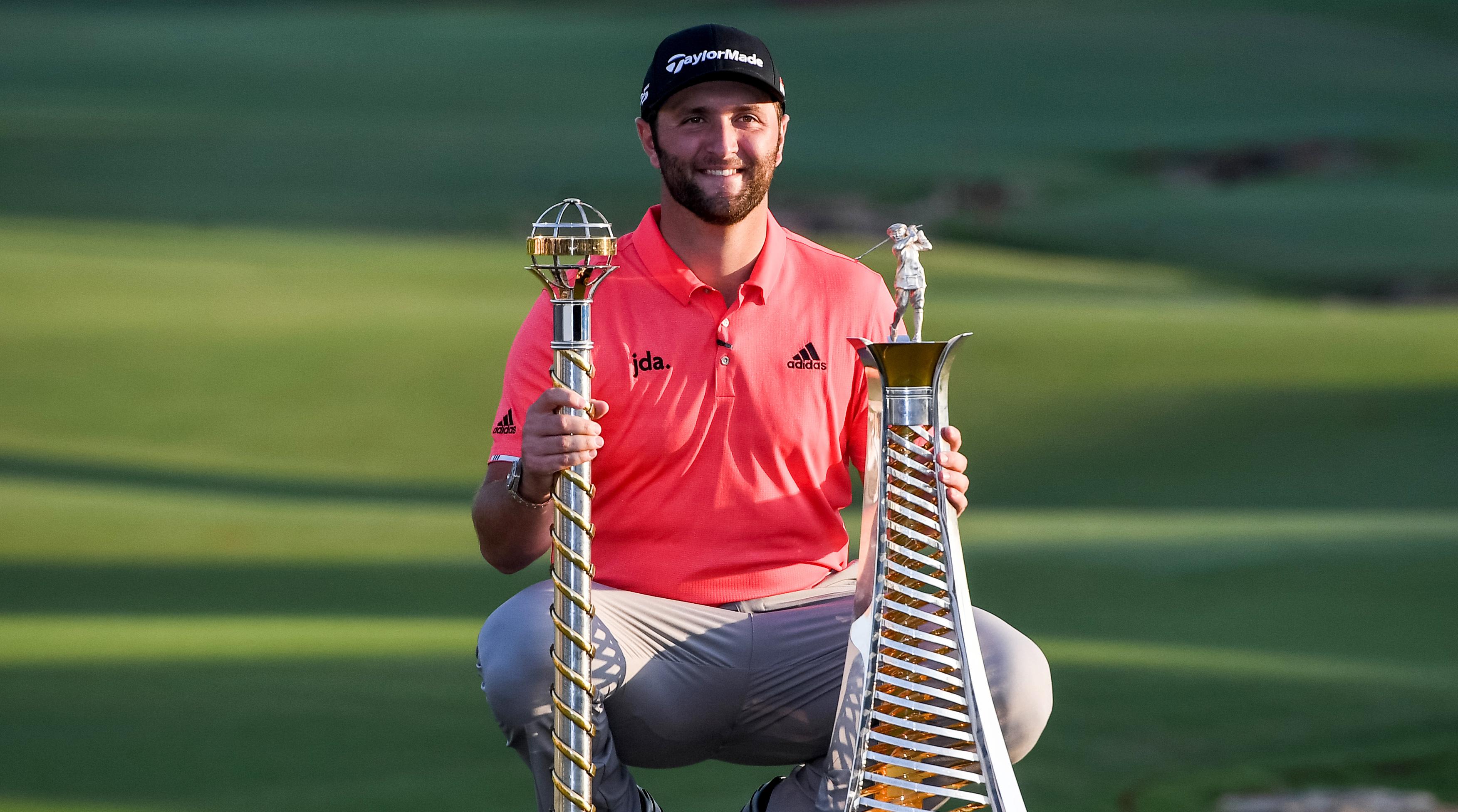 Golf - Tour européen - Finale de la Race to Dubaï: Mike Lorenzo-Vera sur le podium derrière le superchampion Jon Rahm