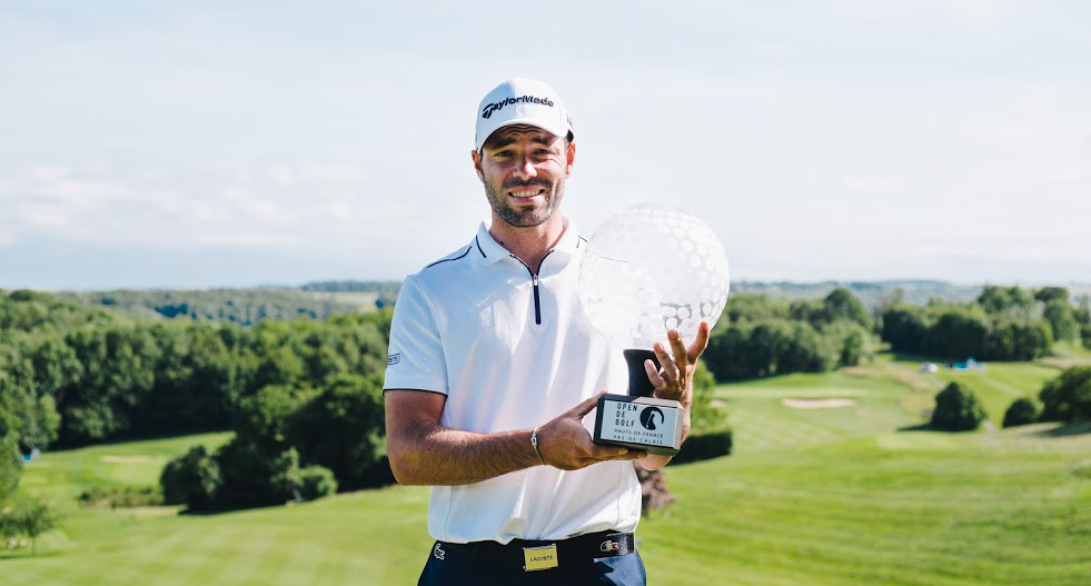 Golf - Tour européen - Open des Hauts-de-France Pas-de-Calais: Robin Roussel triomphe à Saint-Omer